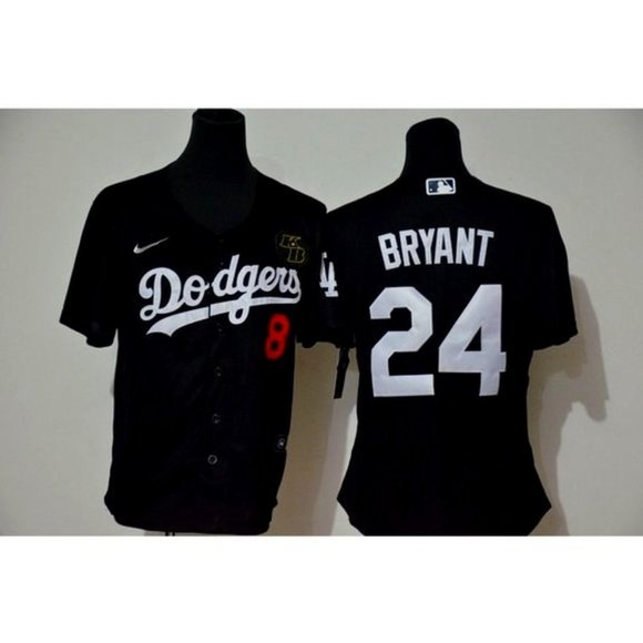 Tops   Women La Dodgers Kobe Bryant Black Jersey   Poshmark